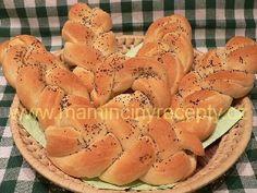 Hrnkové kynuté těsto Hot Dog Buns, Hot Dogs, Cantaloupe, Bread, Fruit, Food, Basket, The Fruit, Meals