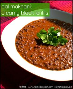Dal Makhani. My favorite Indian dish, and tomorrow's dinner!