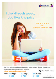Hi Reach adds a new dimension to broadband, providing high-speed broadband service that covers many people to across. And with our capacity-rich broadband services, we aim to provide a new level of broadband service in dense urban markets where it's needed most. Fast Internet, Speed Internet, High Speed, Urban, How To Plan, People, People Illustration, Folk