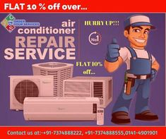 Searching for the best AC service. Then OYS is here for your help. #mansarovar #sodala #nirmannagar, #shyamnagar Call at- +91-7374888555, +91-7374888222