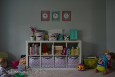 Featured on Remodelaholic: playroom, What Does She Do All Day