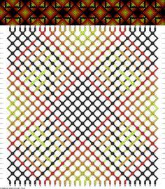 Muster # 78326, Streicher: 30 Zeilen: 30 Farben: 6
