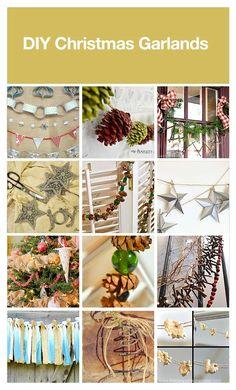 DIY Christmas garlands, curated by Leah via HomeTalk