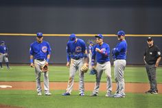 Addison Russell, Kris Bryant, Javier Baez, #ElMago, Anthony Rizzo, Chicago Cubs Win 5-3! @ Miller Park, 9/21/17.