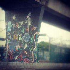 Esse fica no 1º Museu Aberto de Arte Urbana. Av. Cruzeiro do Sul. São Paulo - SP.