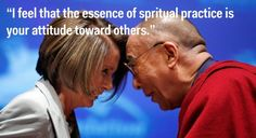 His Holiness in his own words.