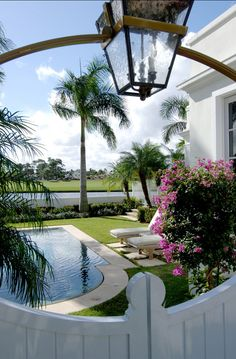 Beautiful #Backyard with Pool.