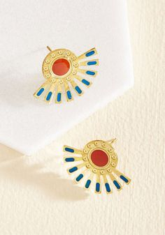 Get a Lobe of This! Earrings, @ModCloth