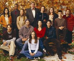 Gilmore Girls (2000-2007). Never saw one episode until 2015 on Netflix. Quirky. Smart writing. A satisfying binge. watched all 7 season July 2915-March 10 2016! Took 7 months.