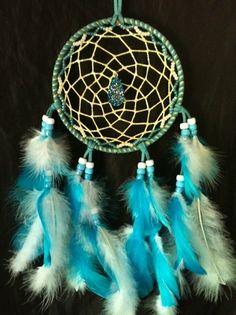 Blue Glowing Spiral