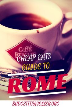 You've probably heard of pizza but what about pinsa? Know where to get hot freshly prepared pasta dishes in Rome for under €5? Ever had bucatini all'amatriciana? Local food blogger Diana aka BrowsingRome.com answers all in this fantastic cheap eats guide to Rome on the BudgetTraveller