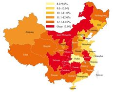 Chinese GDP Breakdown by Province
