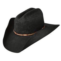 8c72f0b6 Pungo Ridge - Stetson Boss of the Plains 6X Felt Hat - Black, Legendary Felt