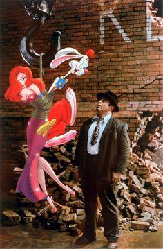 Who Framed Roger Rabbit (1988) - Jessica Rabbit, Roger Rabbit, Bob Hoskins