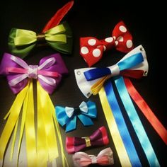 This site sells bows inspired by Disney. I won't be buying any, but I will definitely use them as inspiration to make my own :) I love the Tangled and Peter Pan bows!!