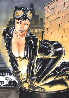 Catwoman by Fred Benes