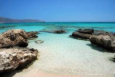 Crete island,Elafonisi beach-Greece