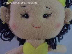 Paradise Zoe Felt  Craft - Passista em Feltro/ Carnaval ^^