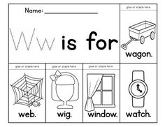Alphabet flip books to teach beginning sounds! 31 books included consonants and 2 for each vowel). Also contains extra pages so you can use this as a literacy center. Preschool Letters, Preschool Lessons, Teaching Letters, Alphabet Activities, Literacy Activities, English Activities, Teaching Reading, Phonics Reading, Early Childhood Activities