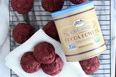 Red Velvet Chocolate Chip Beet Cookies