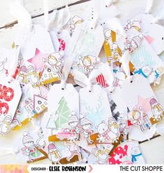 Hey TCS fans, it's Elsie back on the blog today with a crazy amount of gift tags to share with you... 30+ to be precise! My Mum works...