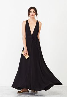 Loving it! The Roswell Dress from Reformation. https://www.thereformation.com/products/roswell-dress-black?utm_source=pinterest&utm_medium=paid&utm_campaign=WeddingChicksPromo