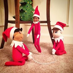 Jumping rope burns serious calories! | 43 Photos Proving the Elf on the Shelf Isn't Afraid to Sweat a Little | POPSUGAR Fitness