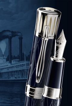 The Mont Blanc limited edition Mark Twain fountain pen