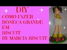 DIY-COMO FAZER BONECA GRANDE DE BISCUIT ( MAIS SORTEIO) - YouTube