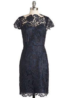 Wine and Divine Dress in Midnight | Mod Retro Vintage Dresses | ModCloth.com