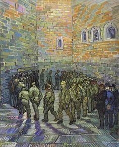 Rueda de presos (según Doré) - Van Gogh (1890)