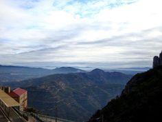 La mejor vista desde Montserrat Bcn