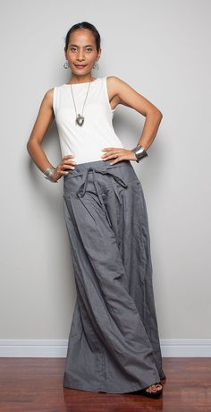 Wide Leg Pants / Palazzo Pants   Soul of the Orient by Nuichan, $58.00