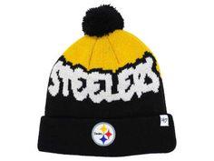buy online f5fae 15bf3 Pittsburgh Steelers  47 NFL Youth Underdog Pom Knit Pom Pom Hat, Pittsburgh  Steelers,