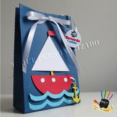 VK is the largest European social network with more than 100 million active users. Kids Gift Bags, Gifts For Kids, Sailing Party, Sailor Theme, Decorated Gift Bags, Nautical Party, Summer Crafts, Baby Birthday, Baby Boy Shower