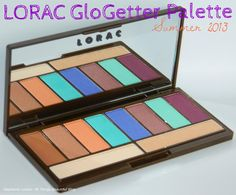 NEW LORAC Limited Edition GloGetter Eyeshadow Palette Swatches & Review (Only $20!) http://stephanielouiseatb.blogspot.com/2013/04/new-lorac-limited-edition-glogetter.html  +ULTA Beauty #ulta #lorac #beauty #cosmetics #summer #spring #limitededition #eyeshadow #palette #bbloggers #BBCoalition