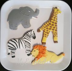 Check out this item in my Etsy shop https://www.etsy.com/listing/287163379/safarijungle-themed-sugar-cookies