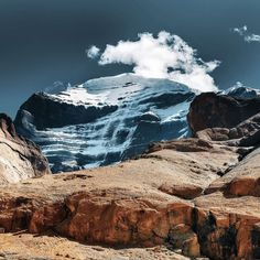 A close-up view of the in western Chakra Locations, Kailash Mansarovar, Sacred Mountain, Wall Papers, Travel Information, Tibet, Mount Everest, Temple, You Got This