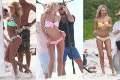 Candice Swanepoel Beach Photos Victoria's Secret's