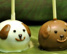 cake pops --- maybe I could get creative and make elephant ones