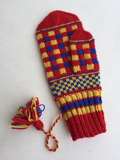 Laura Ricketts Designs - - Checks and Balances Mittens Pattern, How To Purl Knit, Weaving Patterns, Finger Weights, Needles Sizes, Sewing Crafts, Wool, Stitch, Knitting