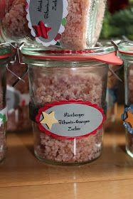 """Inspiriert von der lieben Petra von """" Süße Kreativität von Schokolia """" habe ich mich heute in meine Küche geschlichen um Glühweinzucker zu..."""