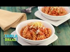 Wondering how to make Pasta at home? This is the Indian-ised version of the Italian Pasta in Red Sauce for my viewers. Hope you like my recipe! This pasta re. Pesto Pasta Recipes, Vegetarian Pasta Recipes, Healthy Recipes, Red Sauce Pasta Recipe, Pasta Fagioli Recipe, Red Pasta, Chilli Pasta, Lentil Pasta, Penne Pasta