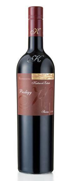 Vintnews Wine News with David Ellis: Katnook Prodigy Shiraz 2010