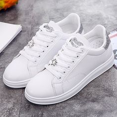 Classic shoes woman sneakers spring/autumn female shoes sewing lace-up adult fashion women's shoes tenis feminino size Price history. Sneakers Mode, Casual Sneakers, Sneakers Fashion, Casual Shoes, Fashion Shoes, Shoes Sneakers, Trendy Shoes, Cute Shoes, Frauen In High Heels