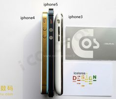 New iPhone 5 Makes iPhone 4S and 3GS Look Fat