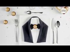 Armani Tuxedo – White Jeans For Men Bow Tie Party, Bow Tie Wedding, Wedding Suits, Fererro, White Tuxedo Wedding, White Napkins, Napkin Folding, Decoration Table, Paper Napkins