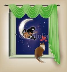 Feline Serenade, ideal for Valentine's Day crazycolors © fotolia