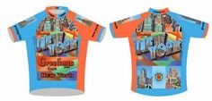 Bicycle Jersey - GREETINGS FROM NEW YORK