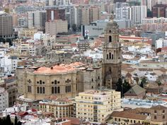"""La Manquita"", Cathedral of Malaga Paris Skyline, New York Skyline, Malaga, San Francisco Ferry, Cathedral, Juni, Building, Travel, Cities"